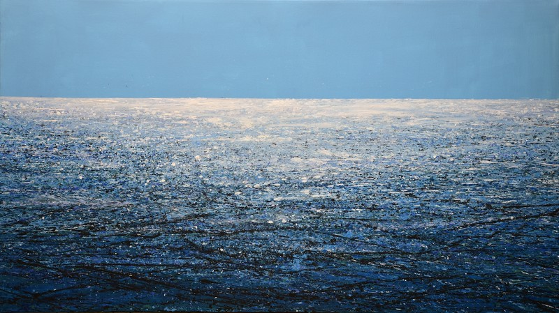 """Sea"" (acrylic on canvas) by Ivan Didovodiuk"