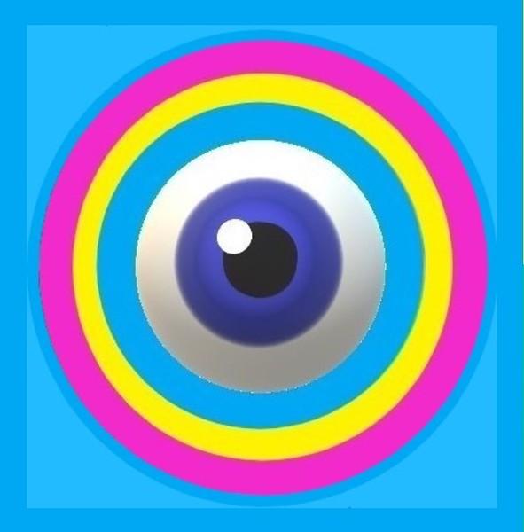 """""""Got My Eye on You"""" (acrylic on canvas) by Jimmy Gockel"""