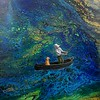 """""""Fantastic Catch"""" (acrylic on canvas) by Pey Huey Lee"""