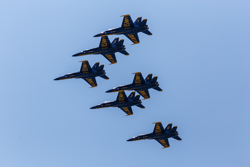 Blue Angels Fly-Over