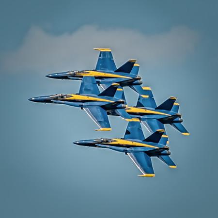 Blue Angels Rochester Air Show 2015