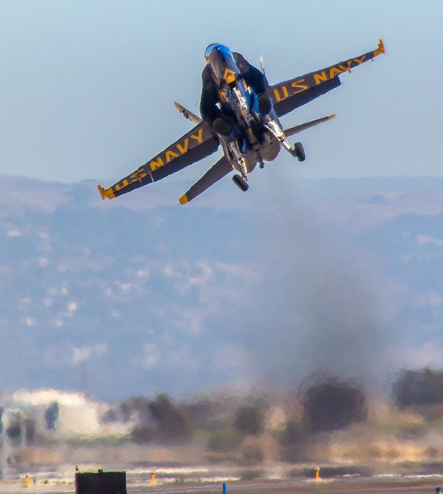 Solo Angel takeoff