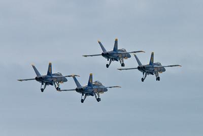 Blue Angles & Fat Albert @ Airshow