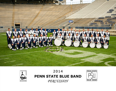 Penn State Blue Band Percussion 2014