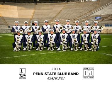 Penn State Blue Band Baritones 2014