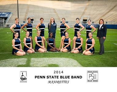 Penn State Blue Band Majorettes 2014