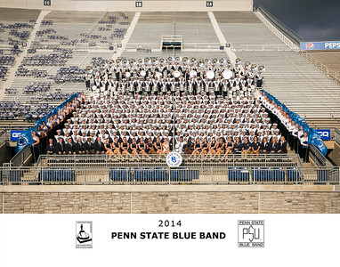 Penn State Blue Band full band 2014