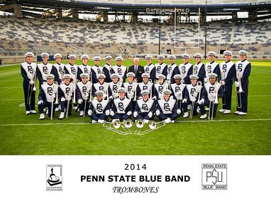 Penn State Blue Band Trombones 2014
