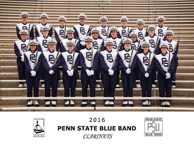 Penn State Blue Band 2016 Clarinets