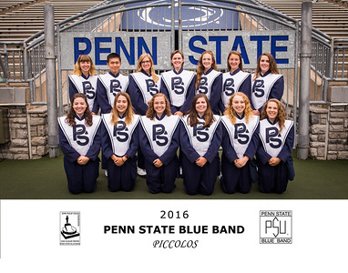 Penn State Blue Band 2016 Piccolos