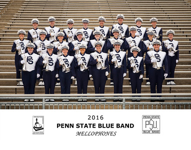 Penn State Blue Band 2016 Mellophones