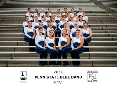 Penn State Blue Band 2016 Silks