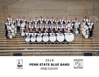Penn State Blue Band 2016 Percussion