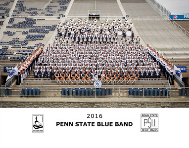 Penn State Blue Band 2016