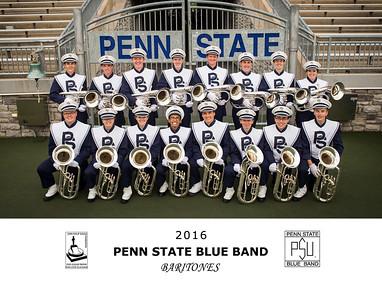 Penn State Blue Band 2016 Baritones