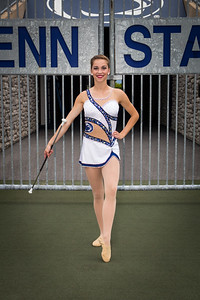 Blue Band Feature Twirler