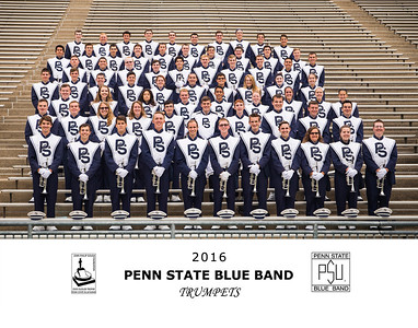 Penn State Blue Band 2016 Trumpets