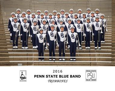 Penn State Blue Band 2016 Trombones