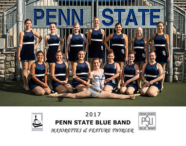 13_BlueBand_2017_Majorettes & Feature Twirler