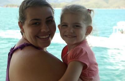 Jay and daughter Kirra
