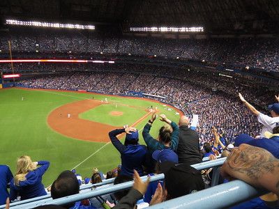 UPAAT at the Blue Jays vs Dodgers Baseball Game