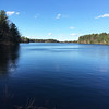 The quiet outlook provided a different view of Mill Pond Reservoir. Photo by Mary Leach