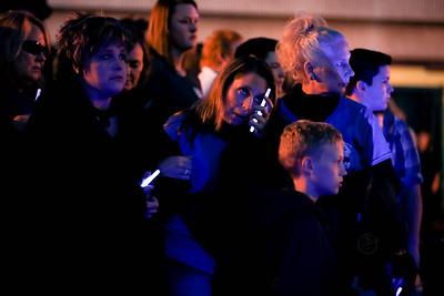Blue Light Memorial Service 2015