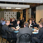Discussions were had at each table and were led by a member of the Board of Directors.