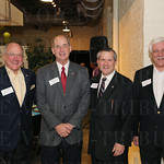Steve Bass, Randy Coe, Circuit Court Clerk David Nicholson and H. Stroth.
