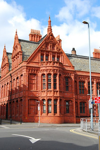 Magistrates Court building in Birmingham