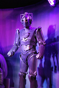 Dr. Who exhibition in the Coventry Transport Museum. Cyberman