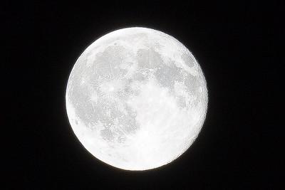 Blue Moon over Michigan