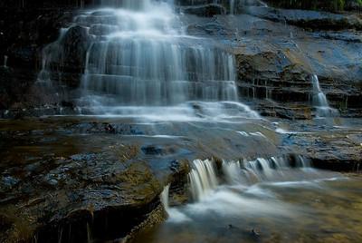 Part of the Katoomba Falls - Katoomba, New South Wales, Australia
