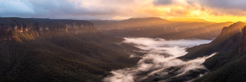 Mist in the Gross Valley