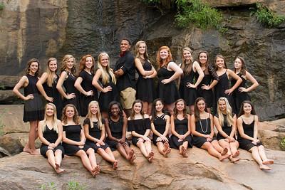 Blue Ridge Cheerleaders 2016/2017
