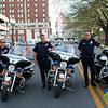 Roanoke's finest with their motorcycles