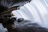 Inside Bridal Vail Falls