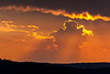 Sunset from Hawksbill Mountain