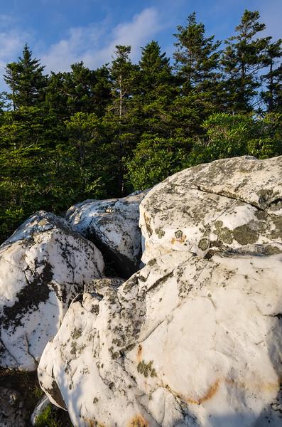 Quartz Boulders