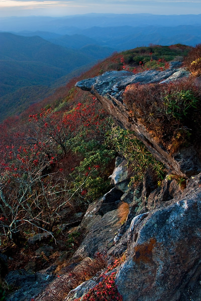 Outcropping at Craggy Pinnacle