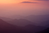 Hazy Sunset from Craggy Pinnacle