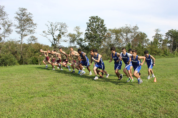 First Race for Cross Country on New BRS Course