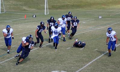 Football vs. Covenant, Sept. 28, 2012