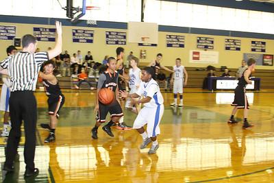 JV Basketball vs. Woodberry, Jan. 26