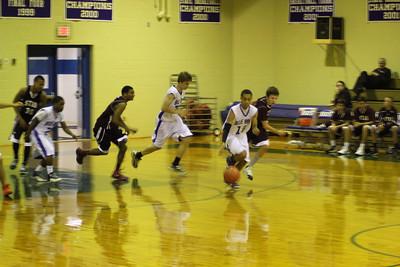 JV Basketball's First Home Game vs. STAB