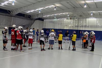 Lacrosse Clinic, Feb. 16, 2013
