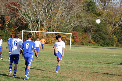 Soccer Wins 1st Game of VIC Tournament
