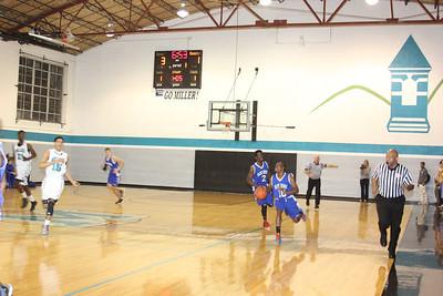 V Basketball @ Miller, Jan. 18, 2013