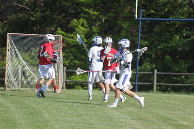 V Lacrosse beats North Cross