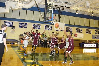 Varsity Basketball vs. VES January 2, 2013